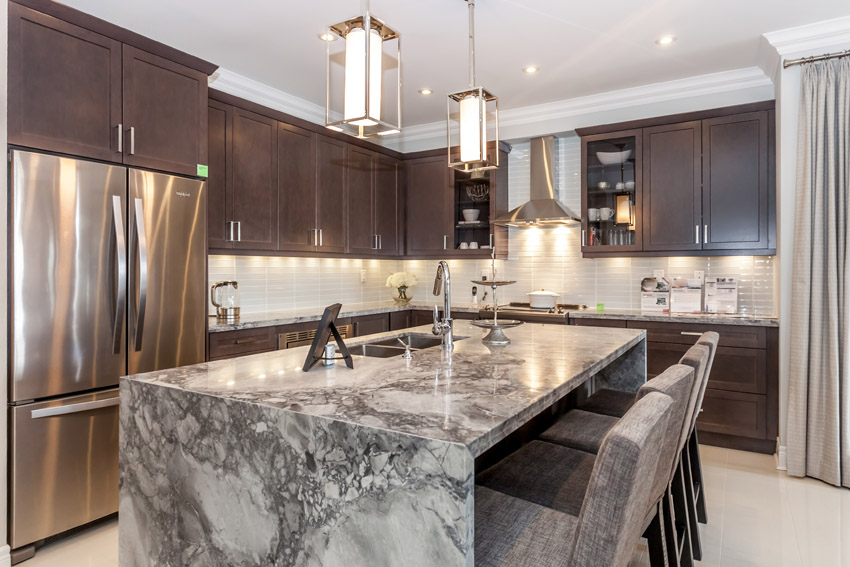 4 ways you can use marble in the kitchen - affordable granite
